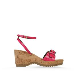 STELLA McCARTNEY, Wedges, Linda Moc Croc Sandals 70mm