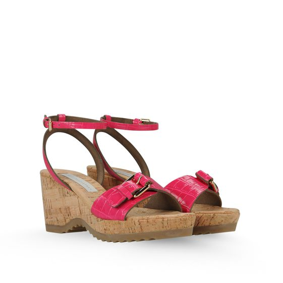 Stella McCartney, Linda Moc Croc Sandals 70mm