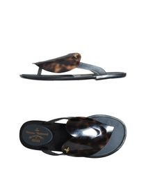VIVIENNE WESTWOOD ANGLOMANIA + MELISSA - Flip flops &amp; clog sandals