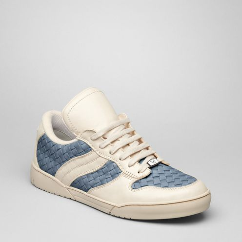 SneakersShoesLeatherBlue Bottega Veneta®