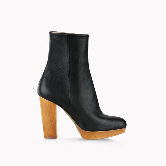 Stella McCartney, Bottines en faux nappa Bailey