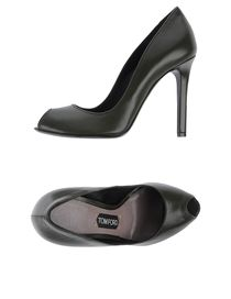 TOM FORD - Courts with open toe