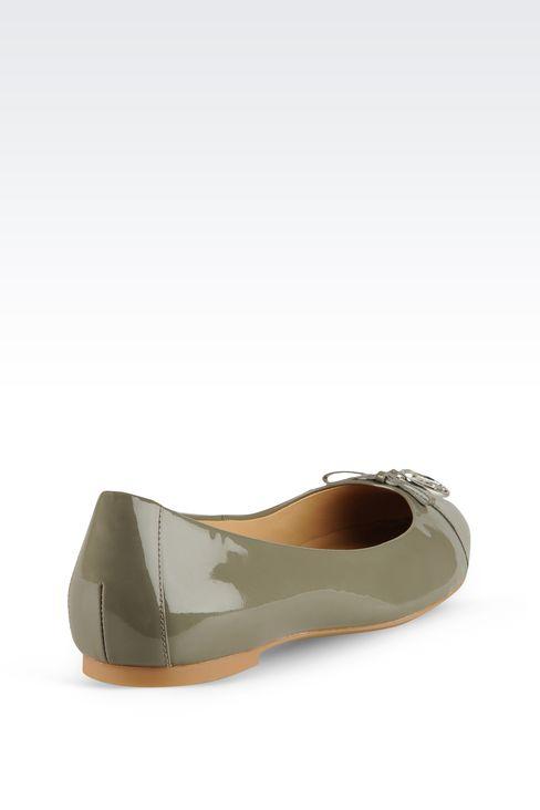 Shoes: Ballet flats Women by Armani - 3