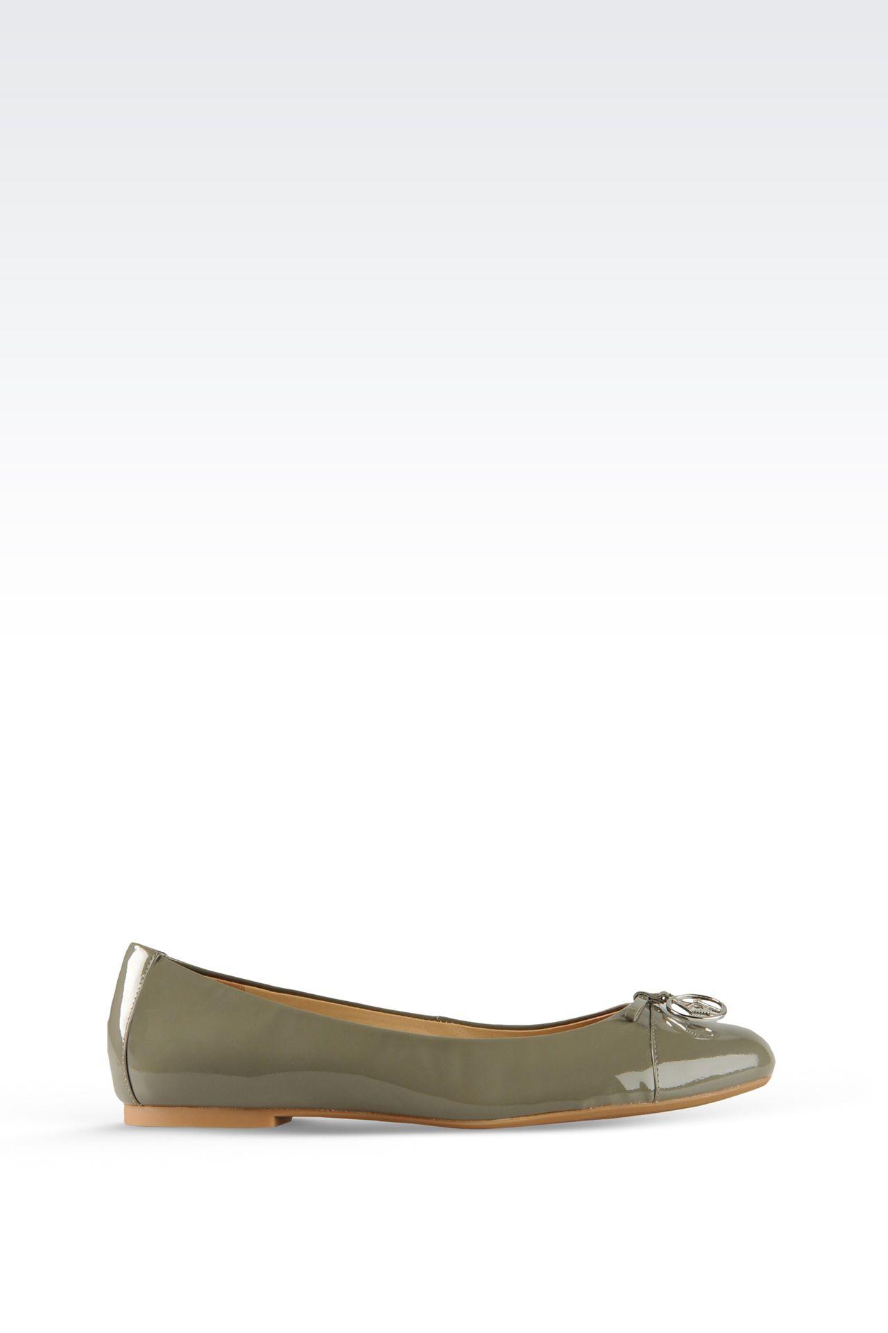Shoes: Ballet flats Women by Armani - 0