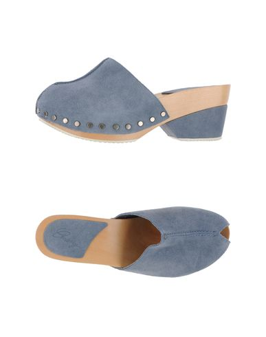 LOGAN CROSSING - Open-toe mule