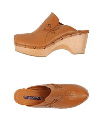 RALPH LAUREN COLLECTION - Open-toe mules