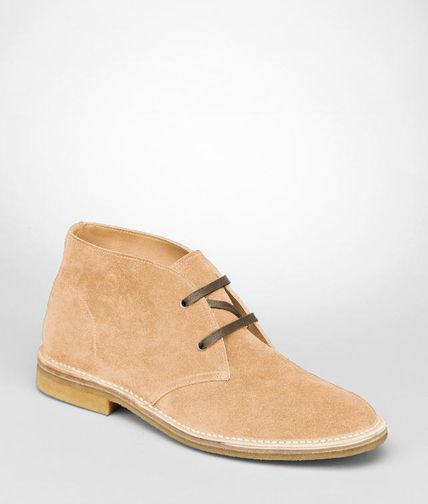 BOTTEGA VENETA - Calf Suede Ankle Boot
