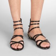 Calf Butterfly Sandal - Sandals - BOTTEGA VENETA - PE13 - 1100