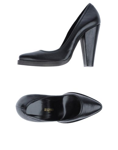 BALMAIN - Closed-toe slip-ons