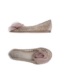 STRATEGIA - Peep-toe ballet flats
