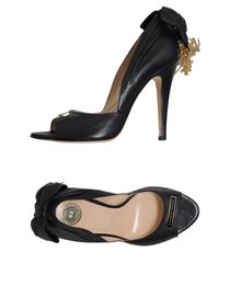 ELISABETTA FRANCHI - Pumps with open toe