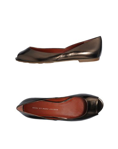 MARC BY MARC JACOBS - Peep-toe ballet flats
