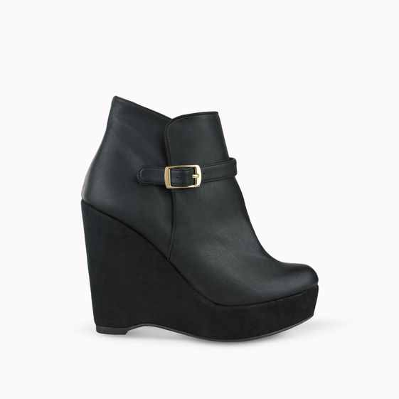 Stella McCartney, City Preston Stiefeletten mit Keilabsatz
