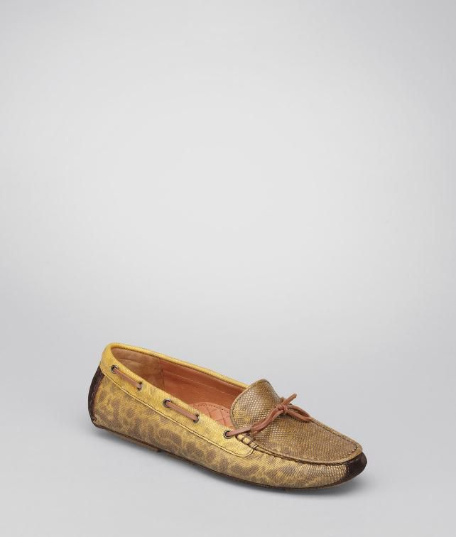BOTTEGA VENETA Karung Suede Moccasin Flats, ballerinas and loafers D fp