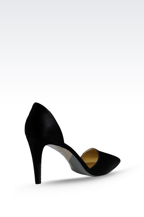 SATIN PUMP: Pumps Women by Armani - 3