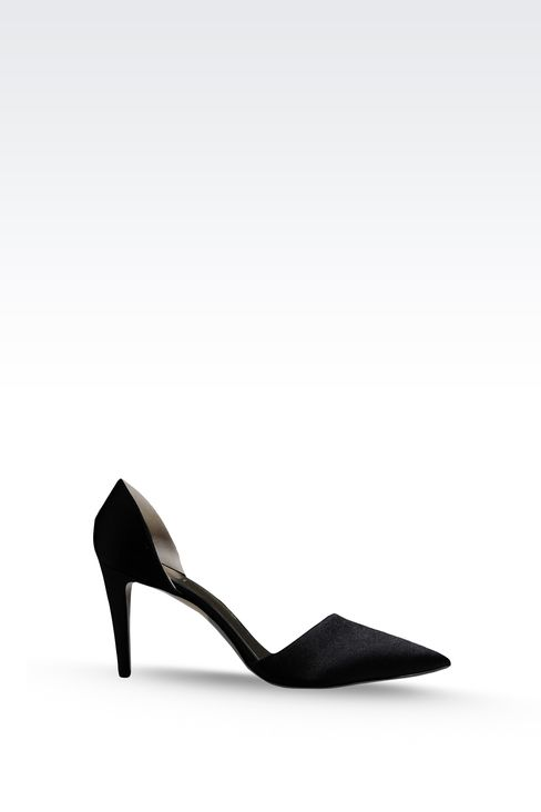 SATIN PUMP: Pumps Women by Armani - 1