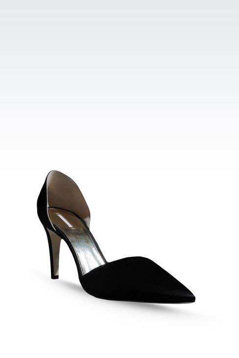 SATIN PUMP: Pumps Women by Armani - 2