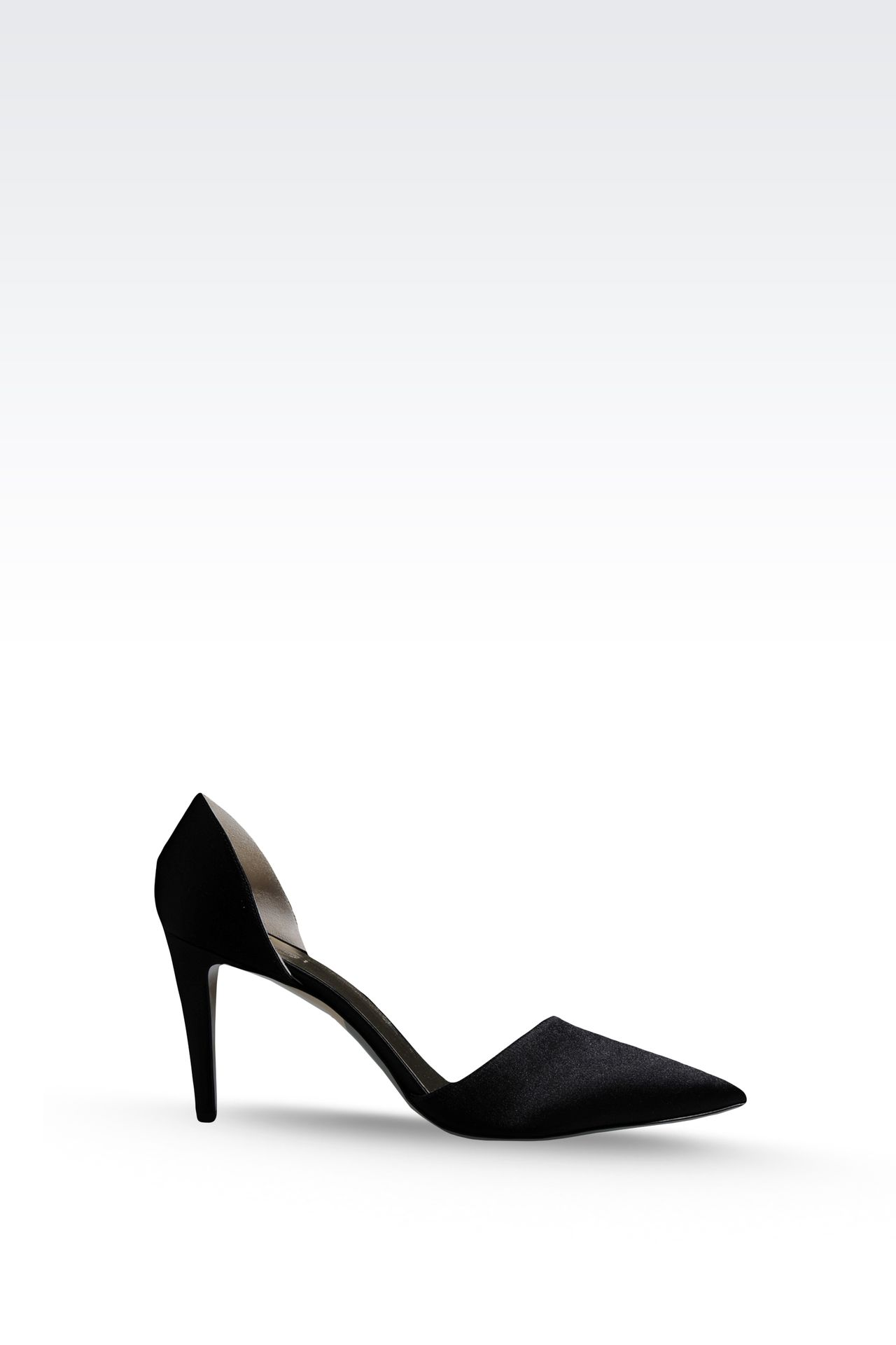 SATIN PUMP: Pumps Women by Armani - 0