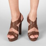 Intrecciato Cuir Sandal - Heels and wedges - BOTTEGA VENETA - PE13 - 790