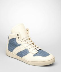 TrainersShoesLeatherBlue Bottega Veneta®