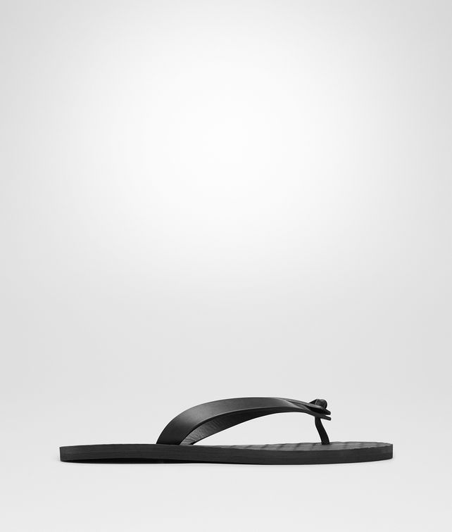 BOTTEGA VENETA SANDAL IN NERO CALF Sneaker or Sandal U fp