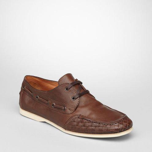 Casual shoesShoesCalf-skin leatherBrown Bottega Veneta