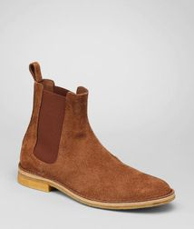 BOTTEGA VENETA - Boots and ankle boots, Junior Buffalo Leather Ankle Boot