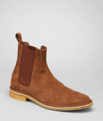 BOTTEGA VENETA - Buffalo Leather Ankle Boot