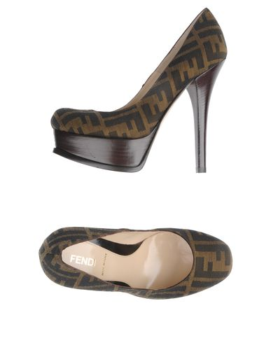 FENDI - Platform pumps