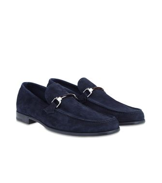 ERMENEGILDO ZEGNA: Loafers Bright blue - 44496097KE