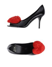 MOSCHINO CHEAPANDCHIC - Pumps with open toe