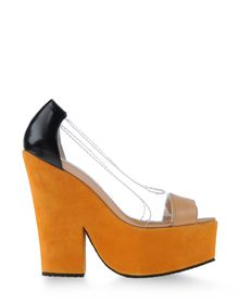 Pumps with open toe - CARVEN