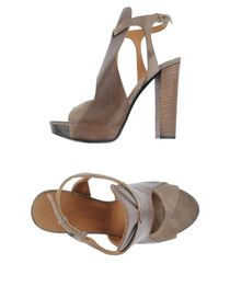DIESEL BLACK GOLD - Platform sandals