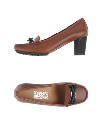 SALVATORE FERRAGAMO - Moccasins with heel