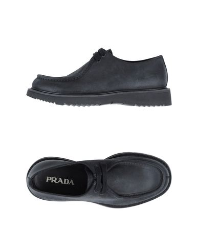 PRADA - Lace-up shoes