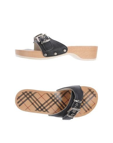 BURBERRY - Clog sandals