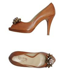 VIA ROMA - Pumps with open toe