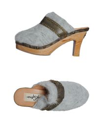SHARE SPIRIT - Open-toe mules