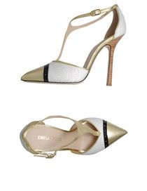EMILIO PUCCI Closed-toe slip-ons