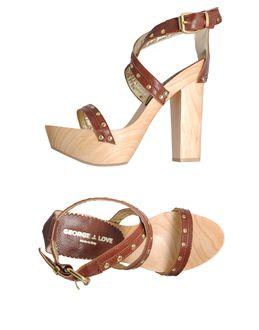 Sandalias con plataforma - G.J.L. EUR 45.00