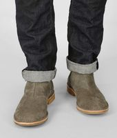 Buffalo Leather Ankle Boot