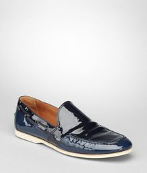 MoccasinsShoes100% LeatherBlue Bottega Veneta