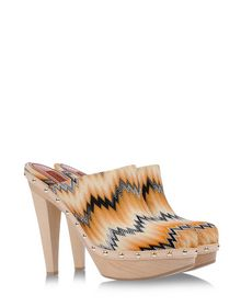 Mules & Clogs - MISSONI