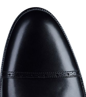 ERMENEGILDO ZEGNA: Loafers Black - Dark brown - 44504346LM
