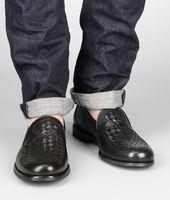 Calf Intrecciato Shoe
