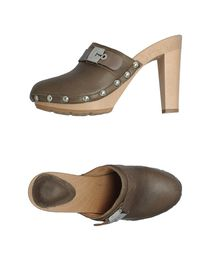 SCHOLL - Open-toe mules