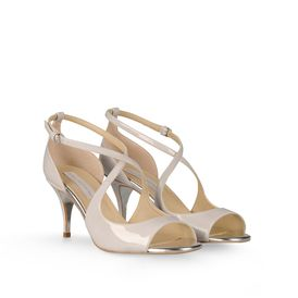STELLA McCARTNEY, Sandalen, Patentsandalen Isobel
