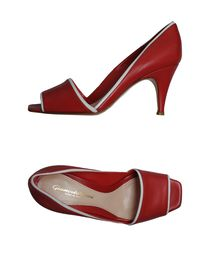 GIANVITO ROSSI - Pumps with open toe