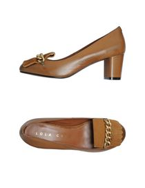 LOLA CRUZ - Moccasins with heel