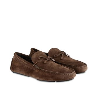 ERMENEGILDO ZEGNA: Loafers Dark brown - 44508054JK